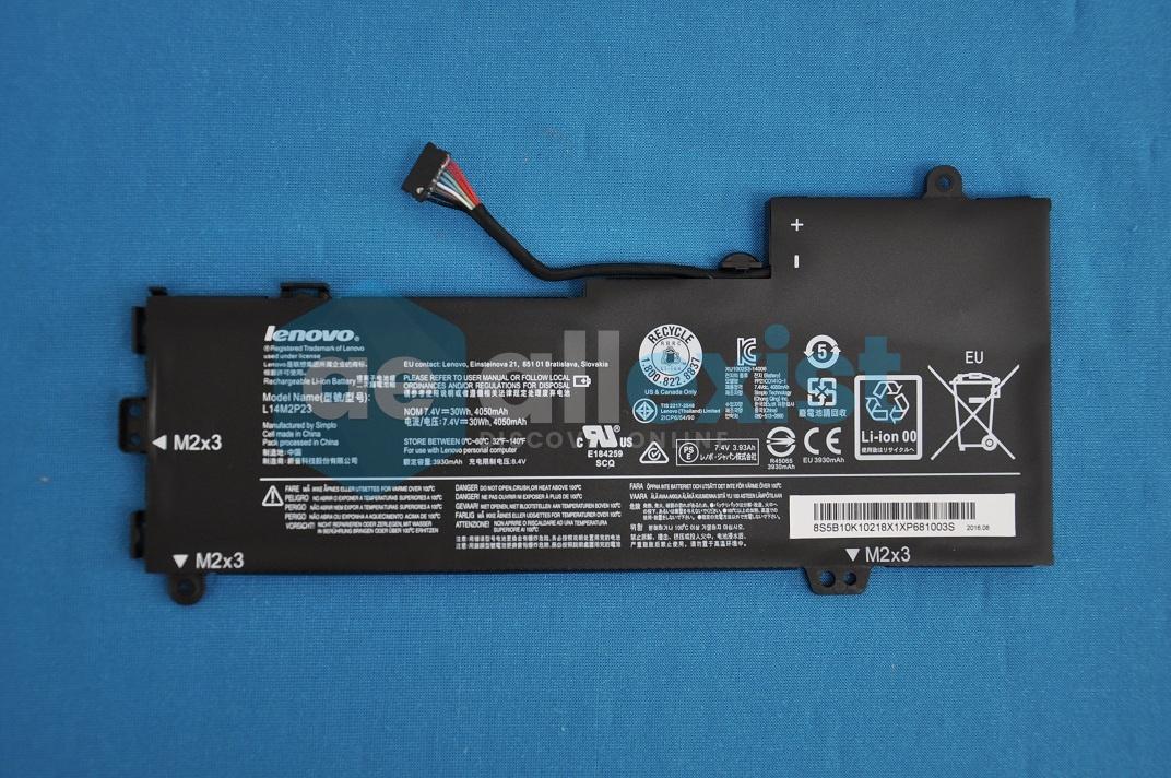 Аккумулятор L14M2P23 для ноутбука Lenovo 100-14iby 100-15iby 5B10K10218 купить недорого | ☆ Allexist